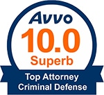 avvo lawyer profile badge example