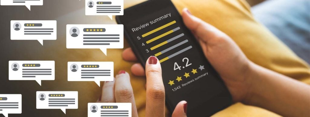 Online Reviews for Local Service Businesses